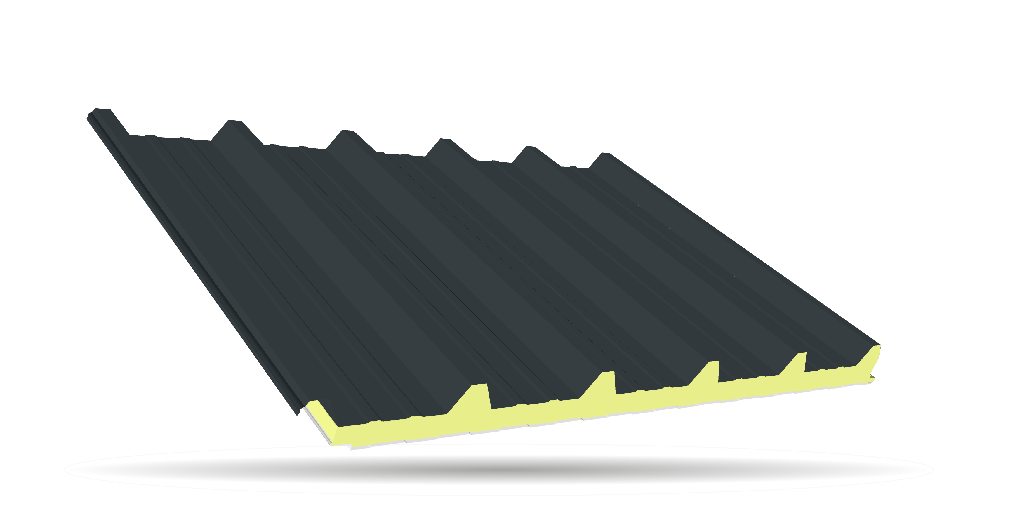 Sandwichpaneele Dach